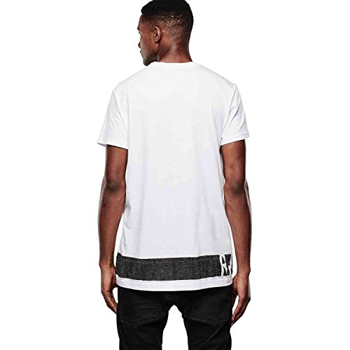 G-Star Herren T-Shirt Stonum long r t s/s - white