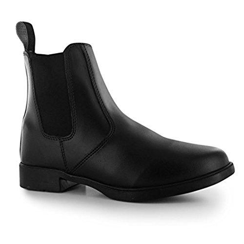 Requisite Aspen Damen Reitstiefelette Reitschuhe Reit Boots Stiefelette Schuhe Schwarz