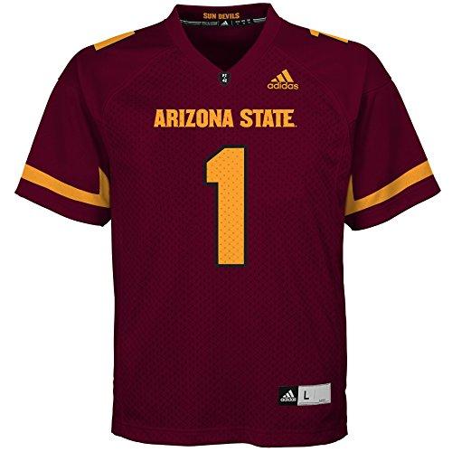 Outerstuff NCAA Arizona State Sun Devils Youth Boys Fashion Football Jersey, M(10-12), Maroon