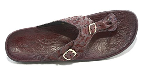Ana-Tech Made in the USA Slip In Thong Sandal Huda Leather 43 Medium