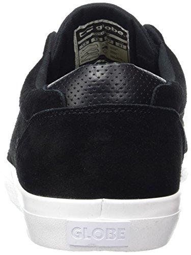 Globe Willow - Zapatillas de casa Hombre Negro (Black/White)