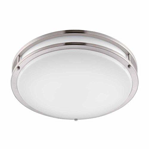 Hampton Bay Led Light Blinking: SmartLED 16-Inch LED Flush Mount Ceiling Light Fixture