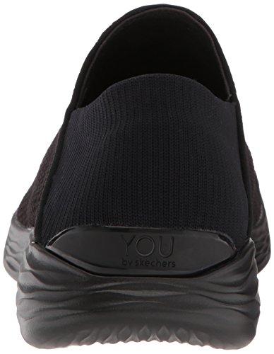 Femme You Skechers Noir Baskets Enfiler q7PvwaC