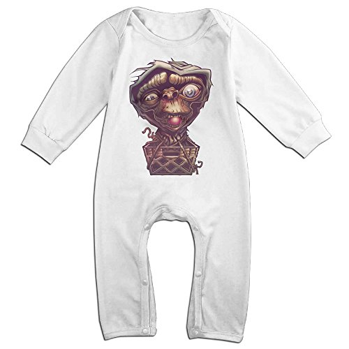 [Raymond The Next Leap Long Sleeve Baby Climbing Clothes White 12 Months] (Pi Day Costume Ideas)
