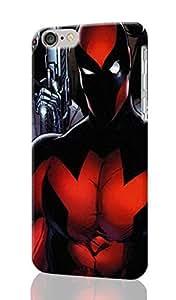 "Deadpool ~ Personalized Custom Beauty Diy 3D Rough Surface Durable Hard Case Cover Skin Unique iphone 6 Plus Case ~ (iPhone 6 plus, 5.5"" Case)"
