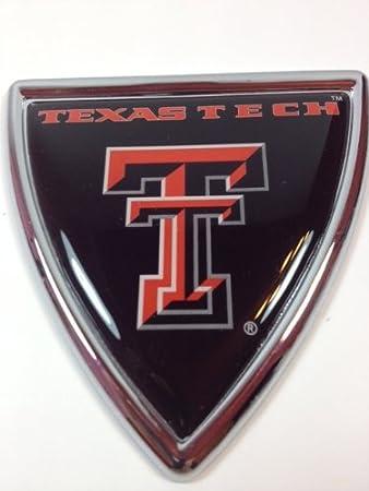 Texas Tech Red Raiders Shield Auto Emblem