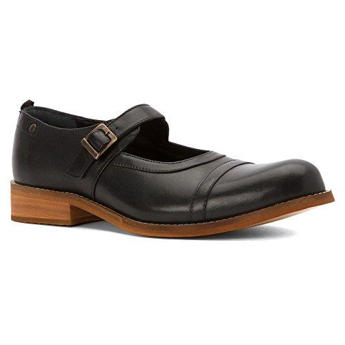 Hardy Mujeres Simone Flats Zapatos Negro