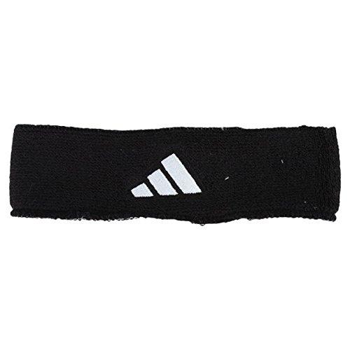 adidas Men's Interval Reversible Headband, White/Black/Black/White, One (Adidas Cotton Jersey)