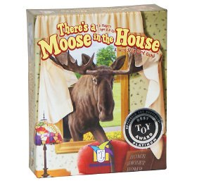 Moose House - There's a Moose in the House