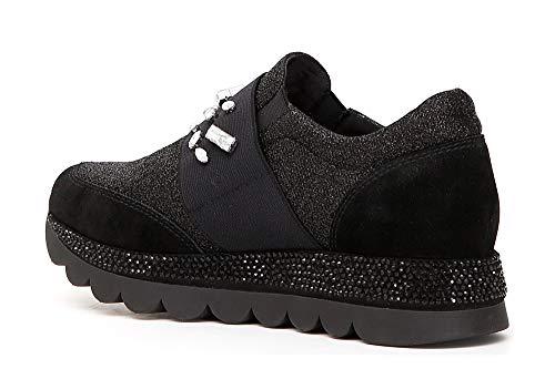 Crosta Sneaker Senza Lacci In Cafènoir Tessuto E qzwSpYd