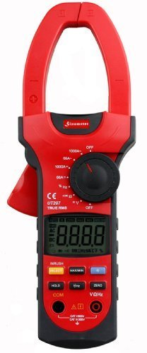 Sinometer UT207 Professional True-RMS Auto-ranging AC/DC Clamp Meter with Inrush Current Measurement by Uni-Trend