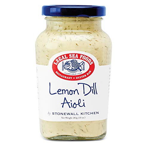 Legal Sea Foods Lemon Dill Aioli, 10 oz
