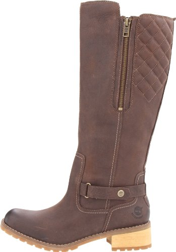 Marron dark Femme Ek Boot Wp Timberland Brown Tall Apley Boots wHq8wS0x