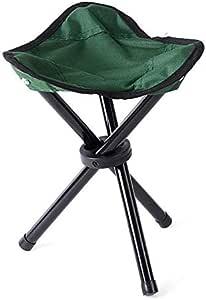 Outdoor camping folding chair Small folding stool Portable fishing stool Beach park folding chair