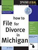 How to File for Divorce in Michigan, Edward A. Haman, 1572484675