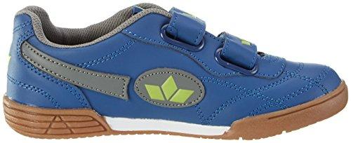 Lico Bernie V - Zapatillas deportivas para interior de material sintético infantil Azul (MARINE/GRAU/LEMON)