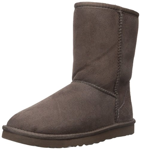 UGG Australia Women's Classic Short Chocolate Sheepskin  Boot - 5 B(M) US (Ugg Short Australia Classic)