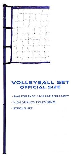 Volleyball Set Original Size, Netz - Garnitur und Zubehör, original Turniergröße