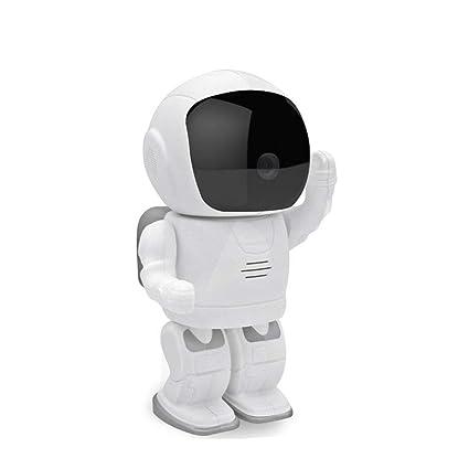 LEERAIN Camara Mascotas Monitor Perro CáMara IP Gato Robot Espacial 1080P HD WiFi Inalambrico TeléFono Inteligente