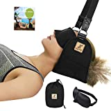 Portable Head Hammock Cervical Traction Device for Neck Pain Relief, Neck Support and Stretcher, SELFIT Relaxation Sling Provides Physical Therapy for Tensions and Shoulder Pain