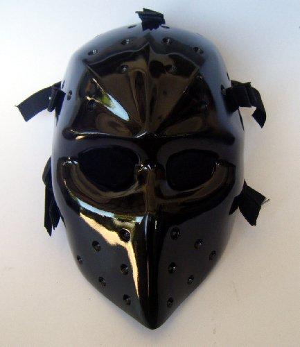 Mask Heat Black Airsoft Bb Paintball Hockey Goalie Fiberglass Party ()