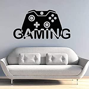 WWYJN Video Game Wall Decal Gaming Gamepad Design Wall ...