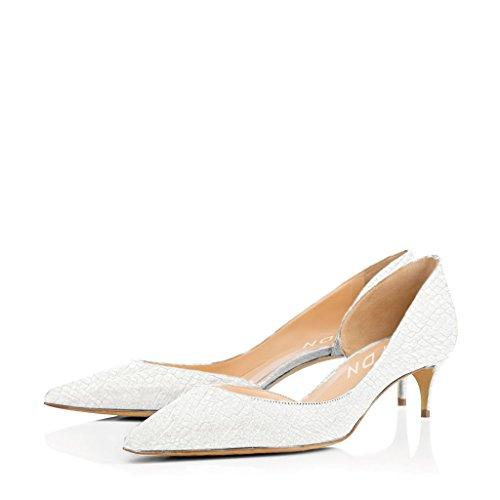 White kitten heels size 11 - Trenters.com