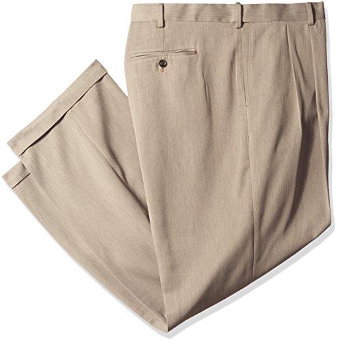 Melange Flat Front Pant - 8