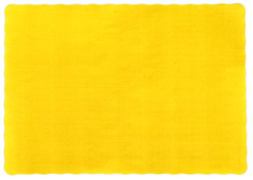 25-Paper-Placemats-10-X-14-Dinner-Size-26-Colors-Harvest-Yellow