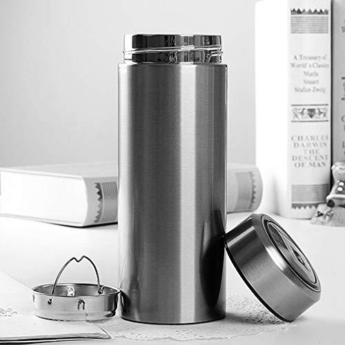 Thermos cup Isolierungs-Schalen-Studenten-Edelstahl-Schalen-tragbare Ms. Large Capacity Capacity Capacity Couple Cups (Farbe   Matte schwarz, Größe   19  7  7cm) B07P9J4FK9 | Billiger als der Preis  c2b19c