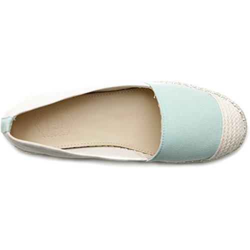 Mint Canvas Shoe Ballet Ollio Ollio Womens Womens Flat Ballet Espadrille zZq6wnn1