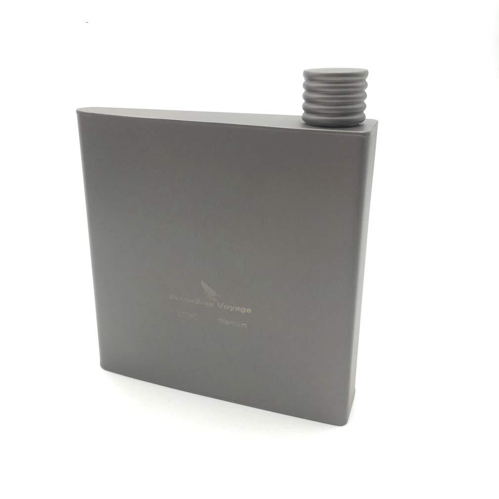 【在庫あり/即出荷可】 チタンポケットFlagonアルコールDrinkフラスコ Flat Bottle Flat B07439GPZM Bottle B07439GPZM, H+mFurniture:a09427fc --- a0267596.xsph.ru