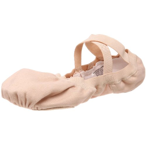 Bloch Women's Pro Elastic Ballet Slipper,Pink,8.5 B (Canvas Slippers)