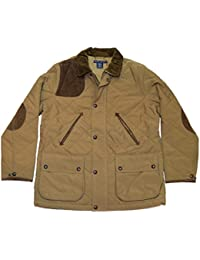 Polo Womens Quilted Suede Shooting Jacket Coat Brown...