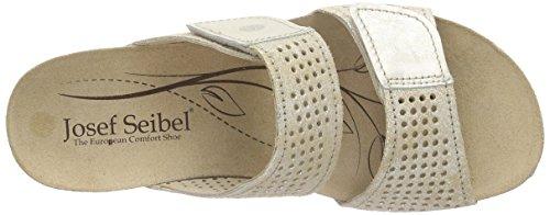 Josef Seibel Angie 07 - Mules Mujer Plateado - Silber (naturale/ghiaccio)