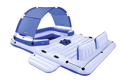 - Floats & Rafts New Bestway Cooler Z Tropical Breeze Large Floating Island