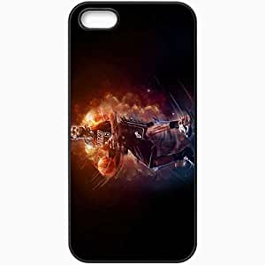 Personalized Case For Ipod Touch 5 Cover Cell phone Skin Lebron james nba basketball basketball miami heat player Black