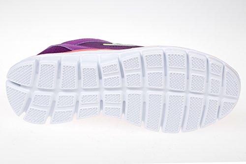 gibra - Zapatillas de tela para mujer Morado - lila/neonorange