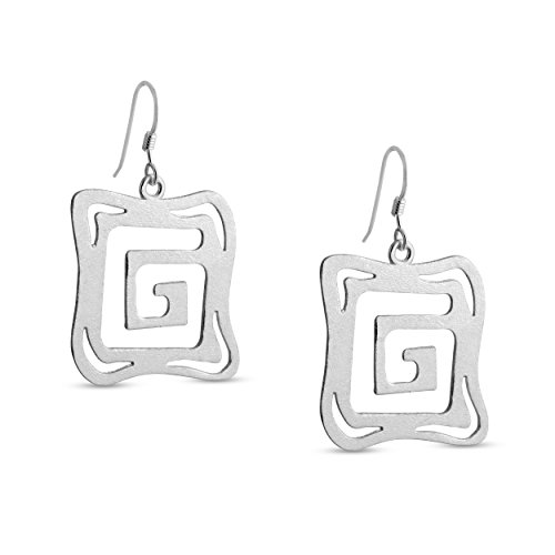 azaggi-sterling-silver-handcrafted-g-shaped-labyrith-square-shaped-hook-earrings