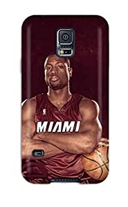 Holly M Denton Davis's Shop basketball nba dwyane wade NBA Sports & Colleges colorful Samsung Galaxy S5 cases 4731315K972559752