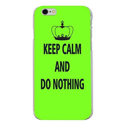 "Disagu Design Case Coque pour Apple iPhone 6 PLUS Housse etui coque pochette ""KEEP CALM AND DO NOTHING"""