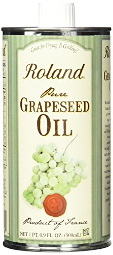 Roland Grapeseed Oil, 16.9 Ounce (Pack of 3) by Roland