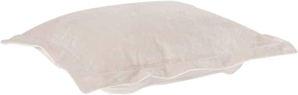 Howard Elliott Puff Ottoman Cushion With Cover, Bella Sand