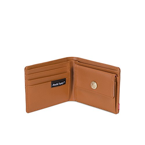 Coin mens Pebbled Tan Hank Co Wallet Rfid Leather Rfid Herschel Wallet Supply Leather xwIAHH