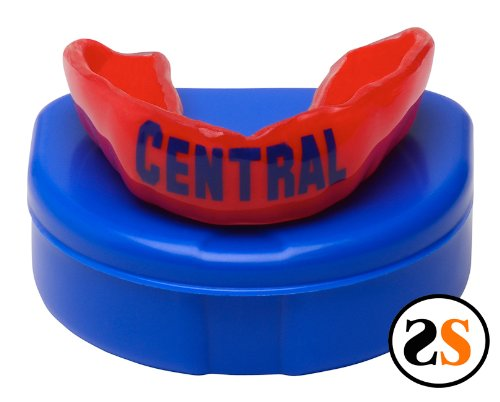 Cental High School Custom Mouthguard by SportingSmiles