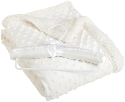 northpoint-beau-bebe-giggle-sherpa-baby-blanket-30-by-40-inch-cream
