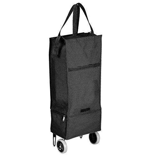 Goodhope Black Rolling Cooler Shopper & Tote Bag (Rolling Tote Cooler)