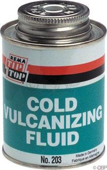 Rema Tip - Rema Tip Top Vulcanizing fluid, 8oz brush can ORM-D