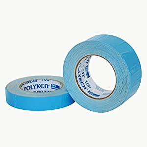 "Polyken 108/NAT225 108 Flame Retardant Double Coated Cloth Carpet Tape: 2"" x 75 ft., Natural"