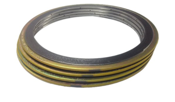 304 Stainless Steel Windings//Graphite//Carbon Steel Outer Ring 0.75 ID Pressure Class 900# Pack of 24 Sterling Seal SSI9000.500304GR900X24 Spiral Wound Gasket with Flexible Filler for 1//2 Pipe